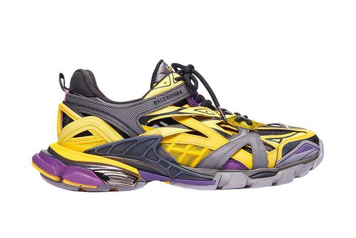Balenciaga Track Sneaker Lakers Lateral
