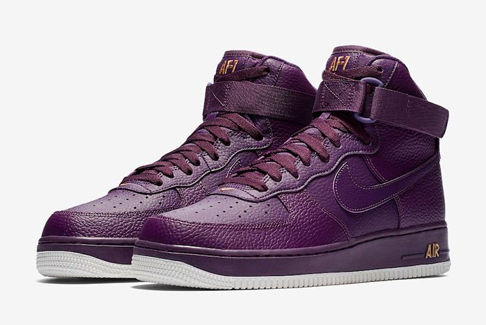 Nike Air Force 1 High Purple 315121 500 5