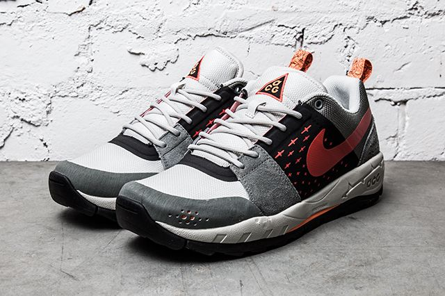 Nike Air Alder Red Grey 2