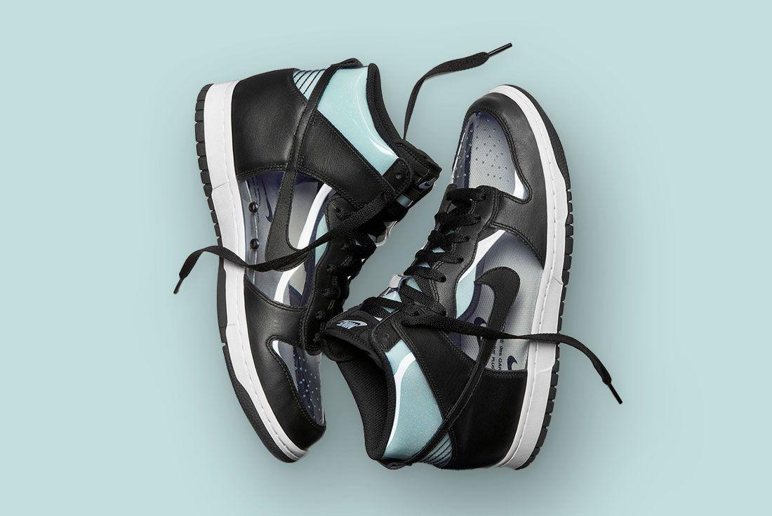 Comme des Garcons Nike Dunk High