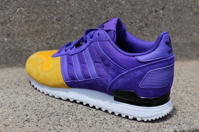 Adidas Zx700 Purple Yellow Heel Quarter 1