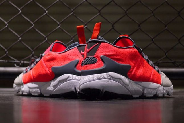 Nike Air Footscape Motion Grey Infra Heel Profile 1