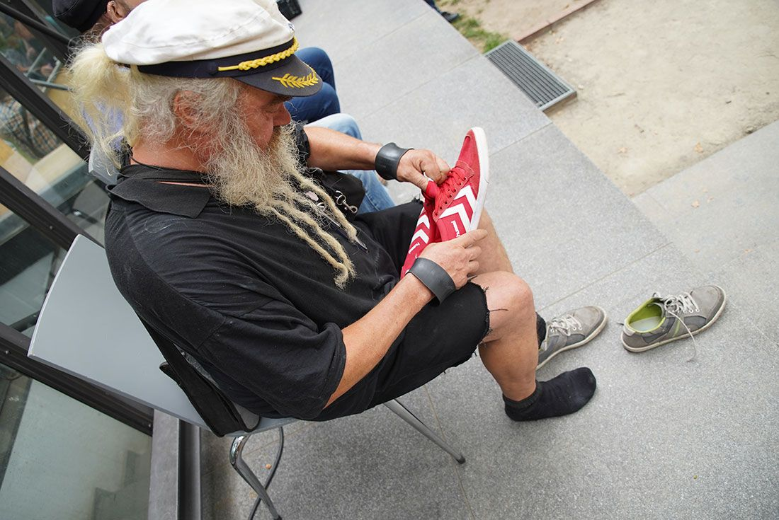 Shoe Some Love Germany Event7 Homeless