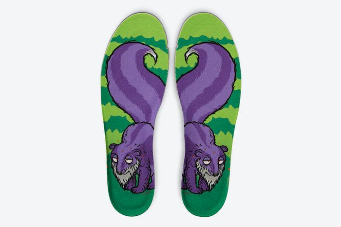 Nike SB Dunk High 4/20 'Reverse Skunk' Insole
