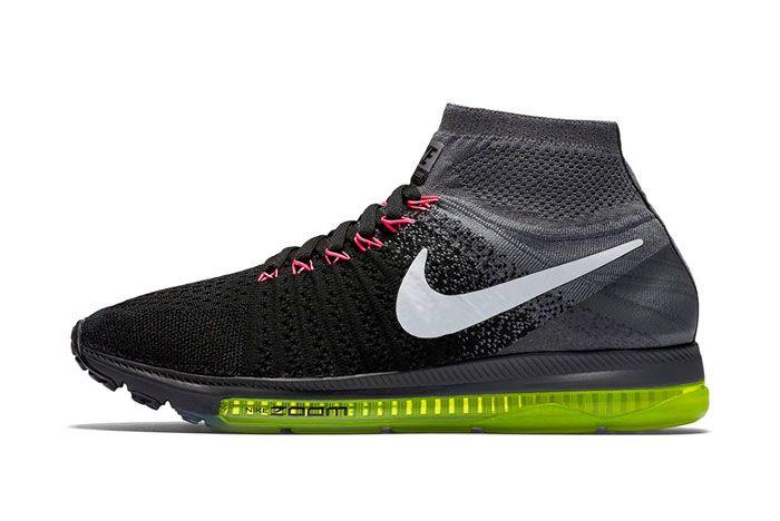 Nike Zoom All Out Flyknit Blackvolt 3