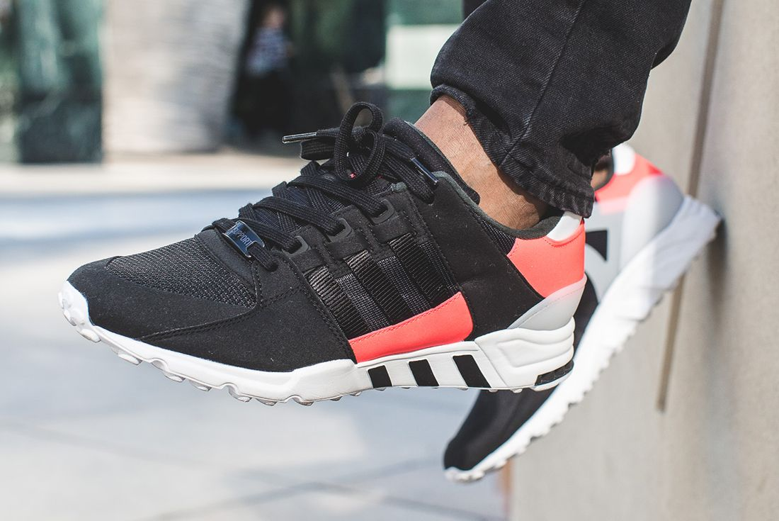 Only The Essentials – Adidas Paints The Town Turbo Red9