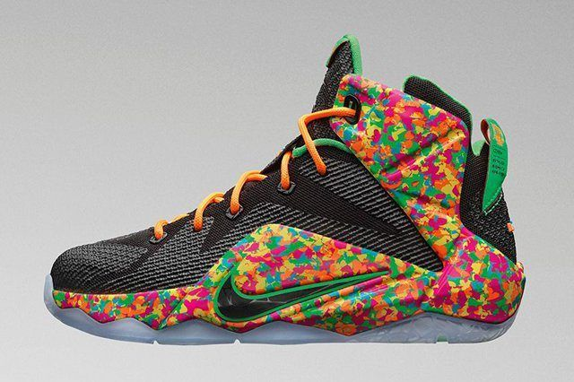 Nike Lebron 12 Kids Cereal 1