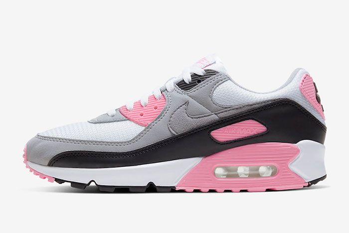Nike Air Max 90 Rose Pink Cd0881 101 Medial Side Shot