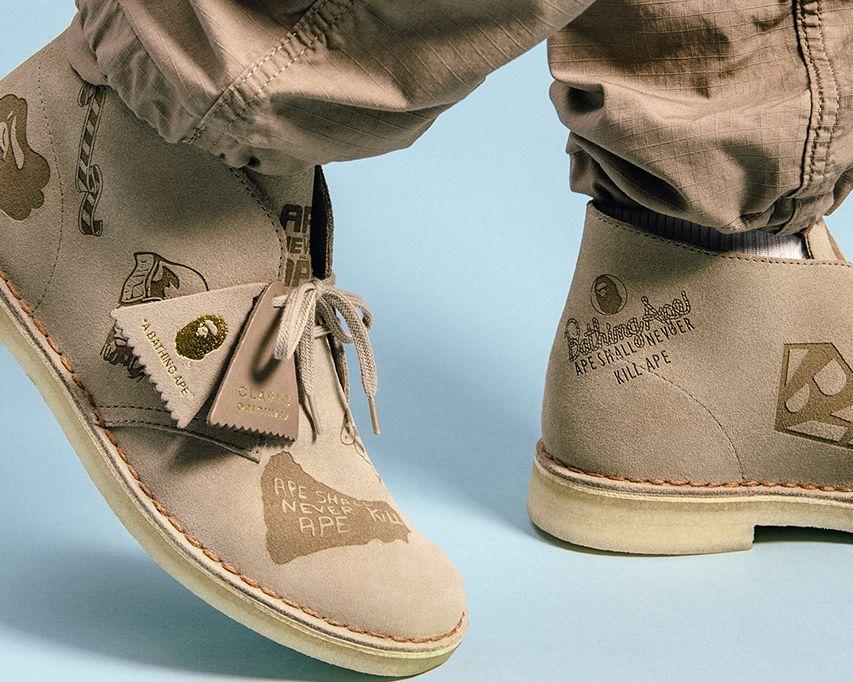 BAPE Clarks Originals Desert Boot