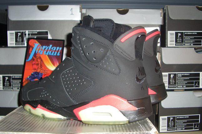 Rebecca Dahms Wmns Basketball Collection Air Jordan 6 Infrared 1