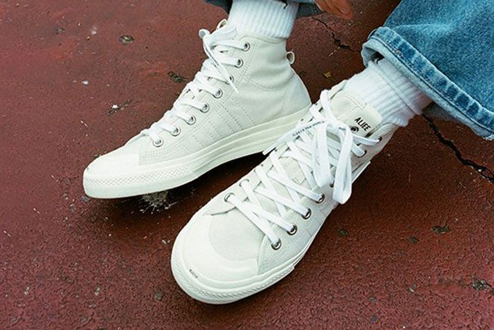 Alife Adidas Nizza Hi Release Date Price 03 On Foot