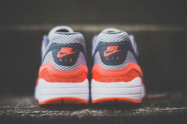 Nike Air Max 1 Breathe Team Orange Heel