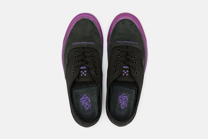 Retrosuperfuture Vans Vault Og Style 43 Lx Purple Release Date Top Down