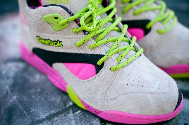 Reebok Omni Lite Pump Grey Feature Sneaker Boutique Quater Toes 1