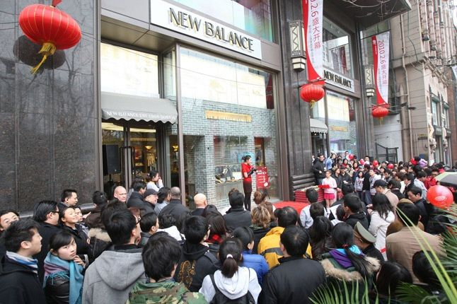 Wmnew Balance Shanghai Store Opening Exterior 1