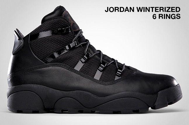 Jordan Winterized 6 Rings Black 1