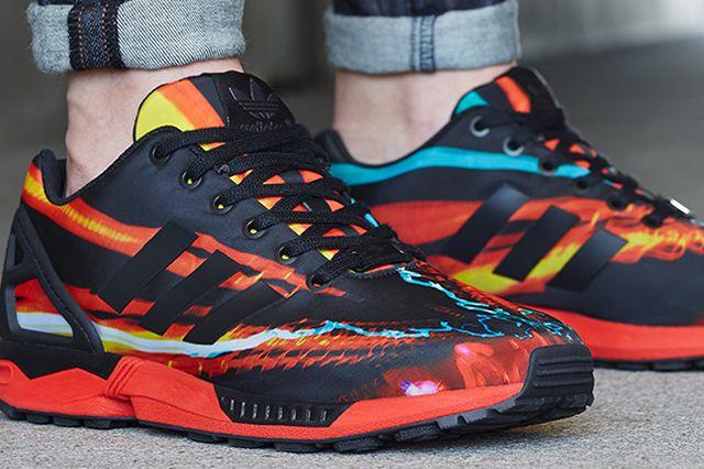 Adidas Zxflux Blurred Lights2