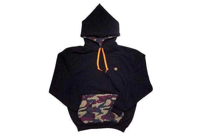 Pullover Hooded Sweatshirt 699 Black 1