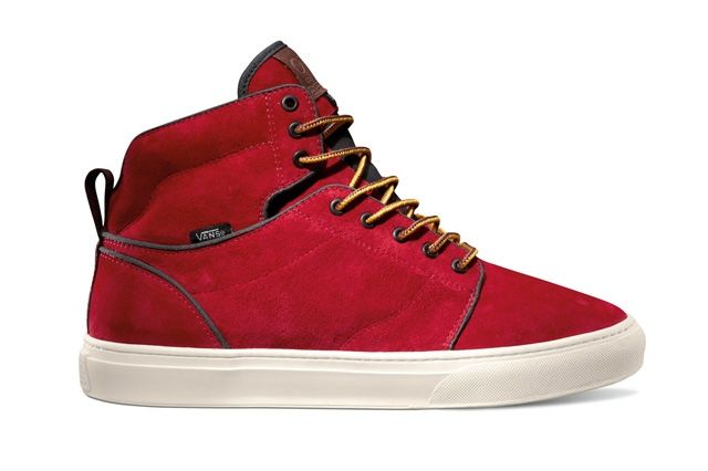 Vans Otw Collection Alomar Boot Red Turtledove Fall 2013