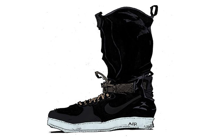 Acronym X Nike Air Force 1 Downtown4