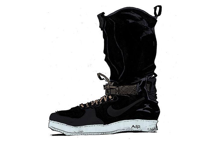 Acronym X Nike Air Force 1 Downtown4