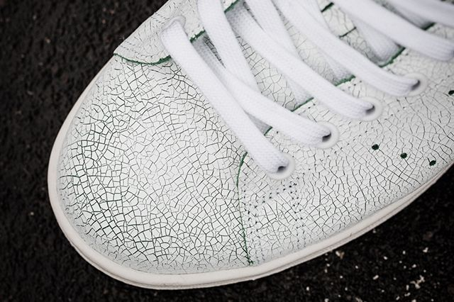 Adidas Stan Smith Cracked Leather Bump 4