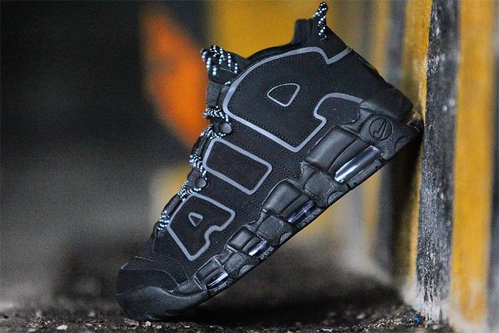 Nike Air More Uptempo Refelctive Feature