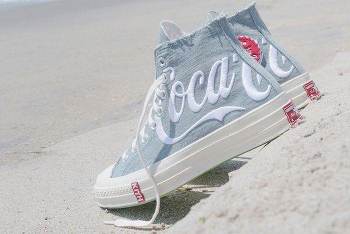 Kith Coca Cola Converse Chuck 70 Back Angle
