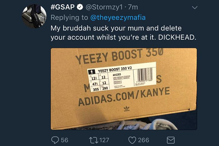 Adidas Stormzy Fakes Yeezy Mafia 1