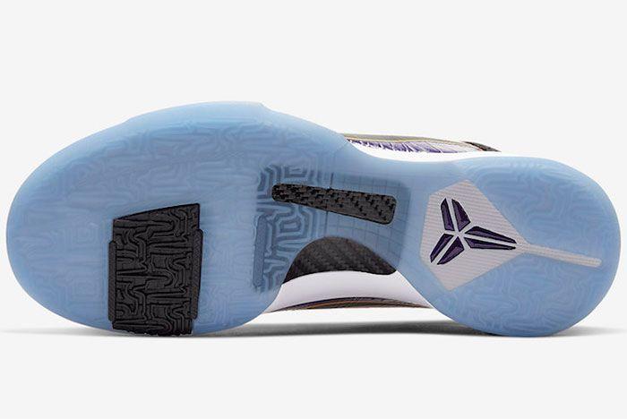 Nike Kobe 5 Protro Lakers Sole
