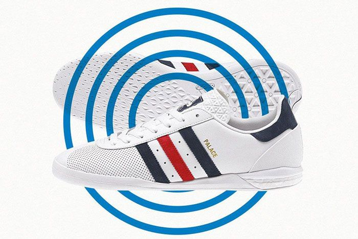 Adidas Palace Indoor Boost White Lateral Side