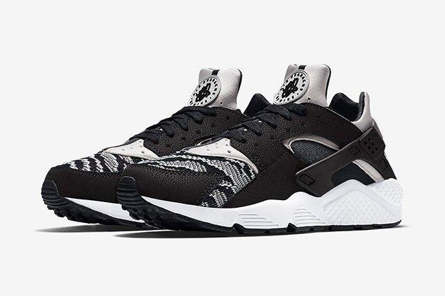 Nike Air Huarache Pa Blackwhite 4
