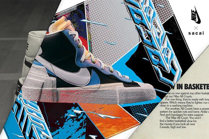 Sacai Nike Blazer Mid Official Blue Release Date Hero