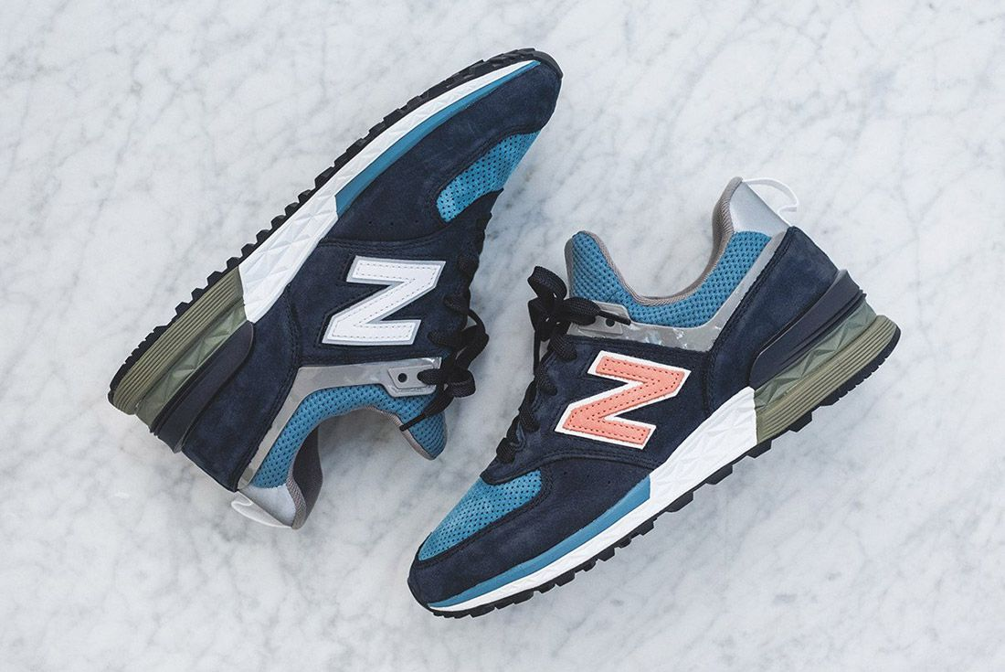 Material Matters New Year 2018 New Balance 574 S 2