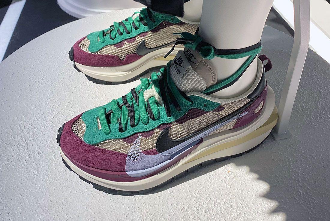 Nike Sacai Pegasus Vaporfly On Foot New York Sneaker Freaker Pics2
