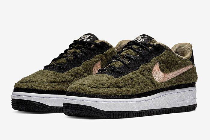 Nike Air Force 1 Low Shearling Av6673 300 1