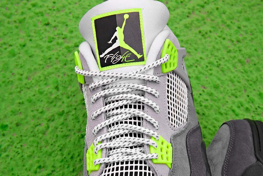 Jd Sports Air Jordan 4 Neon Tongue