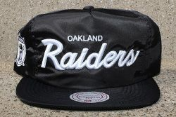 Mitchell Ness Black Satin Nfl Dome Cover Capsule Thumb