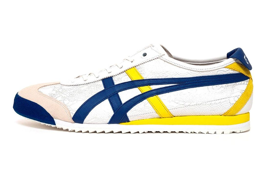 Onitsuka Tiger Mexico 66D Street Fighter White Left