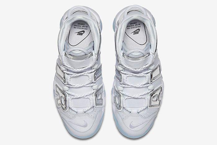 Nike Air More Uptempo Chrome Blue Sneaker Freaker 4