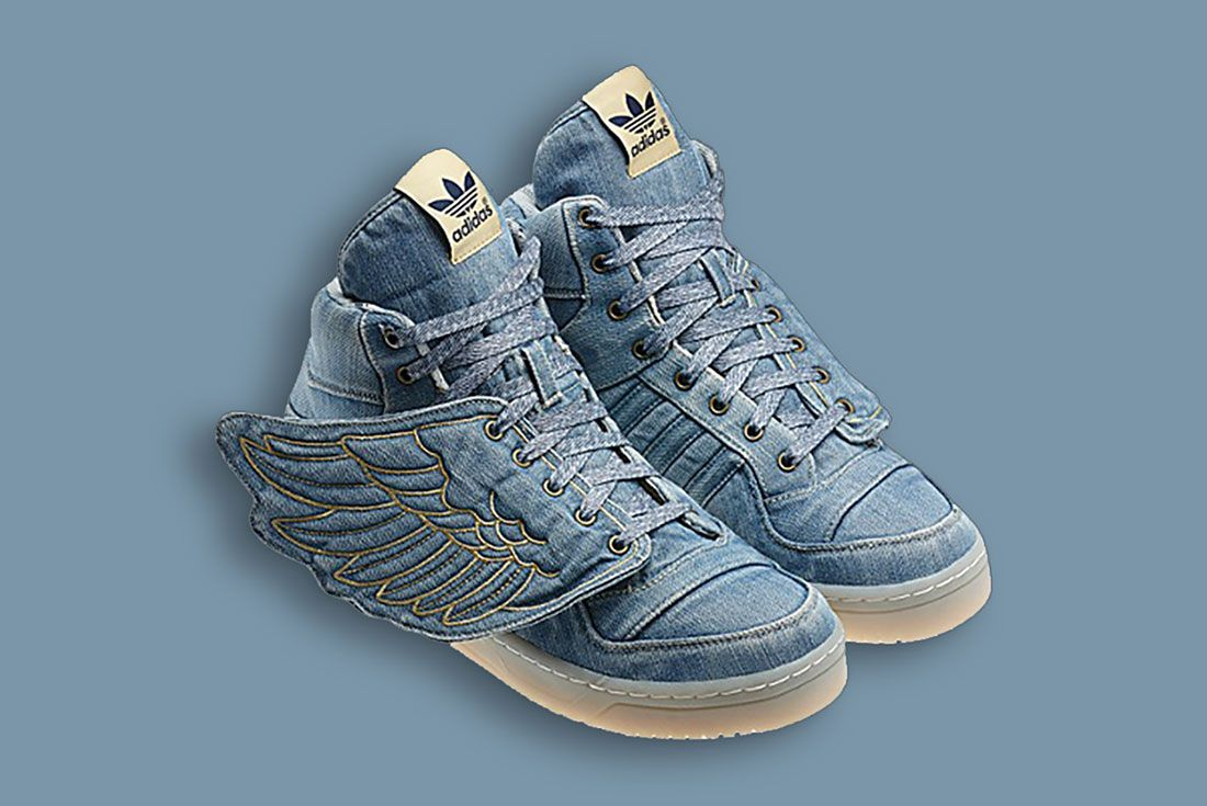 Jeremy Scott x adidas Originals ObyO JS Wings Denim 2011