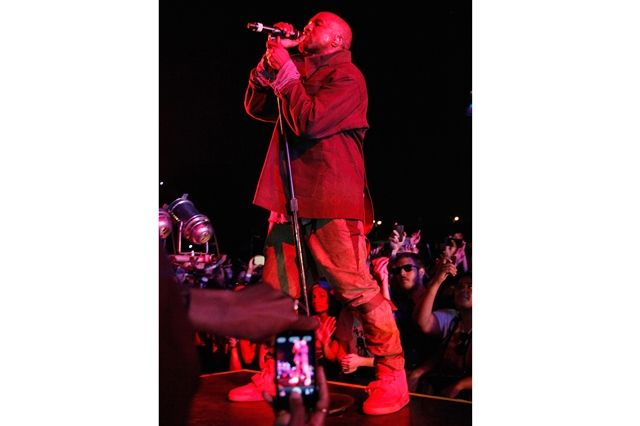 Kanye West Sneaker Style Red Yeezy