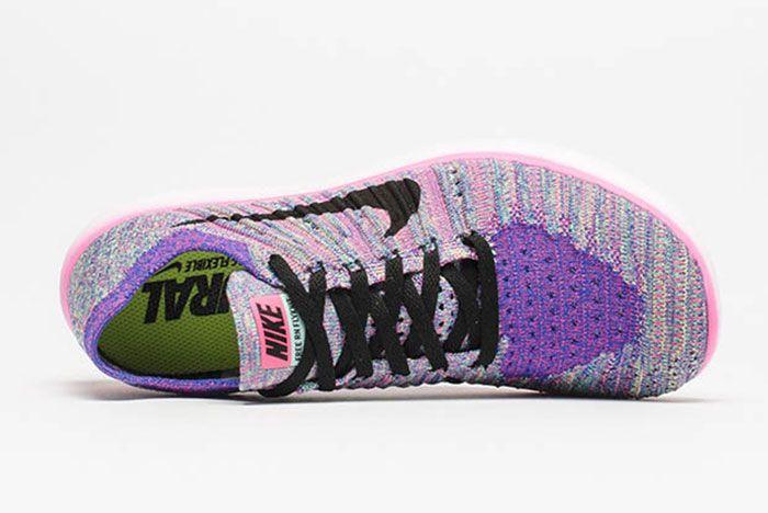 Nike Free Flyknit Multicolour 4