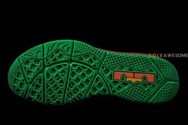 Nike Lebron X Low Watermelon Sole Profile 1
