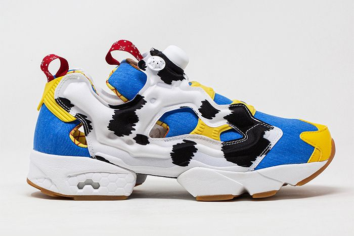 Bait Reebok Instapump Fury Toy Story 4 Woody Lateral Solo
