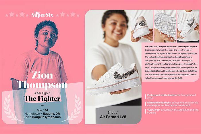 Nike Doernbecher Zion Design