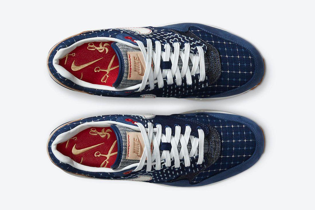 DENHAM x Nike Air Max 1 CW7603-400