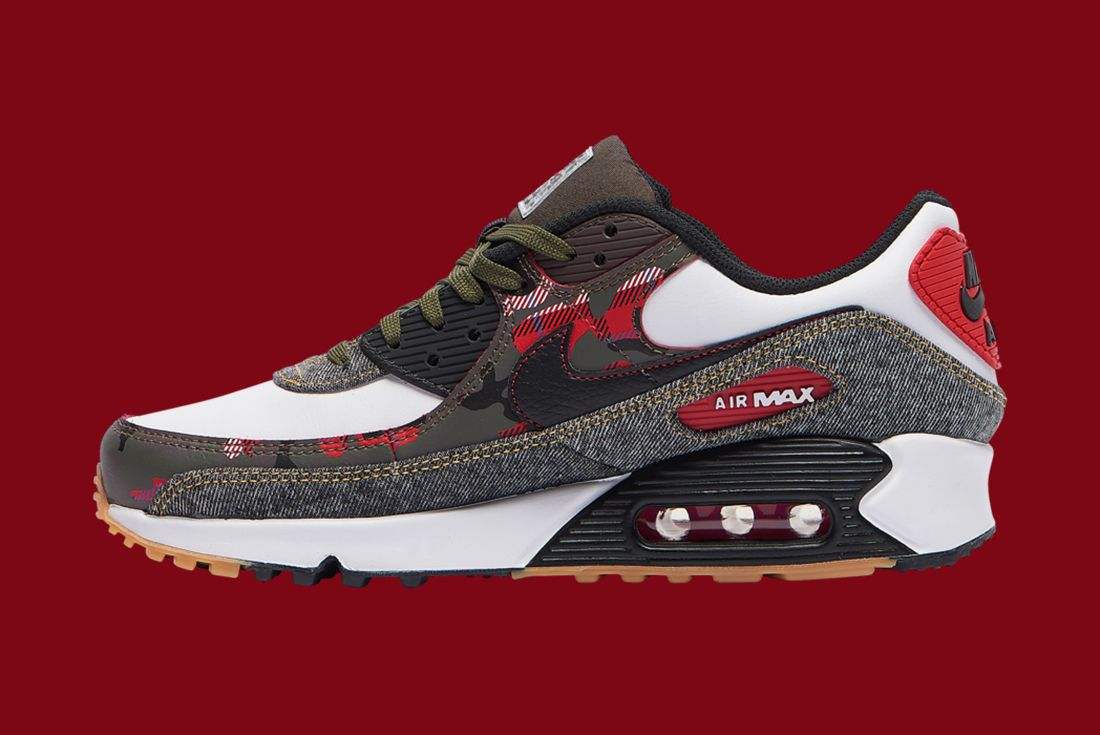 Nike Air Max 90 Denim Camo Left