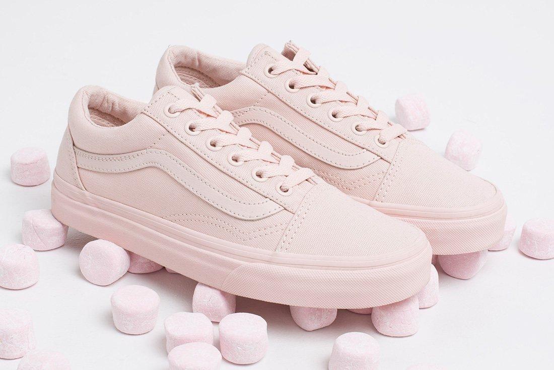 Vans Monochrome Pink