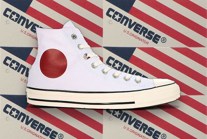 Converse Chuck Taylor All Star Us Originator Hinomaru Hi Release Japan Lateral